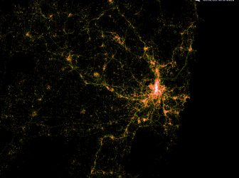 Amazing Twitter Visualisations of Sydney and Amsterdam
