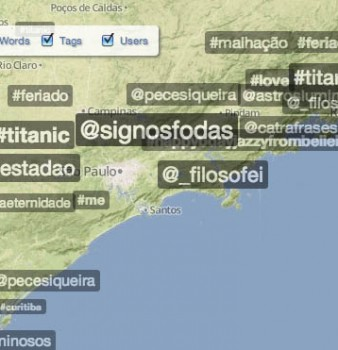 Filtering by #tags, @users & words in Trendsmap Plus