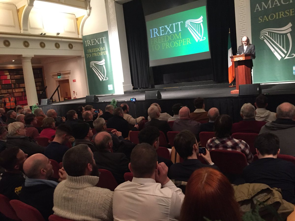 Image result for irexit crowd