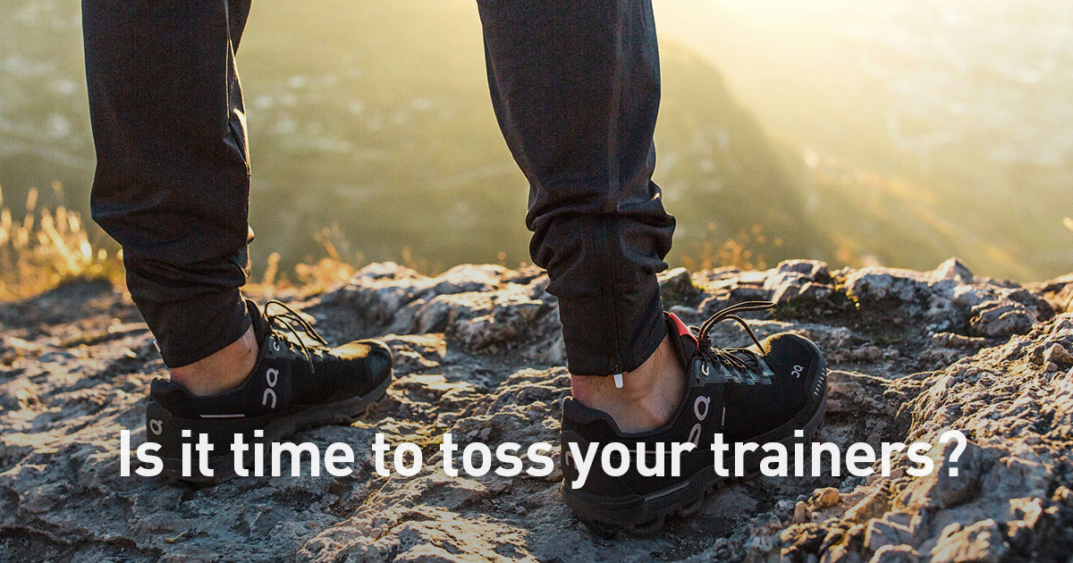 When To Replace Running Shoes 3 Signs Of Shoe Watch For Polar Blog